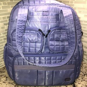 Lug Puddle Jumper Overnight Gym Bag Lavender
